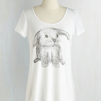 Critters Mid-length Short Sleeves The Bunny Thing About It Top