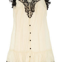 ALICE by Temperley | Vanita lace and silk-chiffon dress | NET-A-PORTER.COM