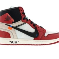 HCXX Jordan 1 Retro High - Off-White (Chicago)