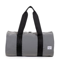 herschel supply co. - 'packable duffel' - reflective silver