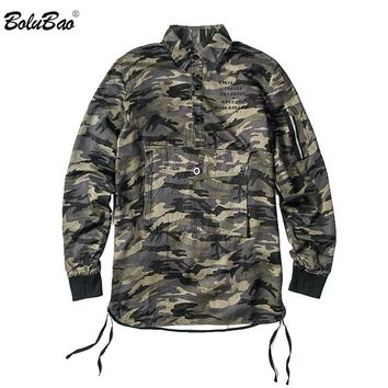 Spring Camouflage jacket Thin Jackets Men's Embroidered Military Army Green Jacket