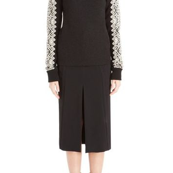 Chloé Jacquard Knit Wool Sweater | Nordstrom