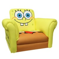 Nickelodeon Deluxe Rocking Chair, Sponge Bob