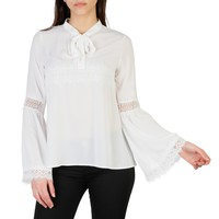 Imperial White Sleeves Long Top
