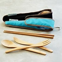 Resusable Bamboo Utensil Set