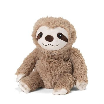 Warmies Cozy Plush Sloth Junior - 9-in