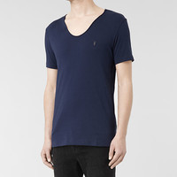 Mens Tonic Scoop T-Shirt (Electric) | ALLSAINTS.com