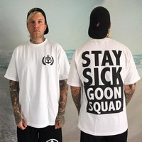 Goon Squad White : SSC0 : Stay Sick Clothing