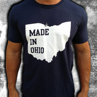 Made in Ohio TShirt by DCApparelLine on Etsy