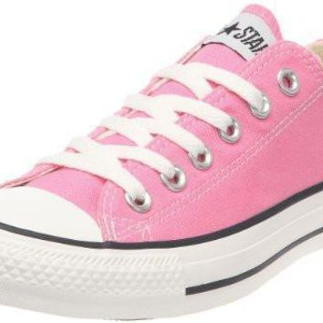 converse chuck taylor all star ox fashion sneaker slip on shoe pink girls 9