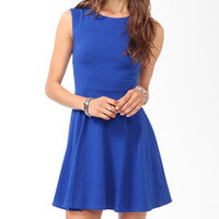 SHORT CUTE DARK BLUE DRESS