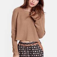 It's About Time Cropped Sweater