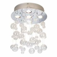 floating bubble flush mount chandelier - Google Search