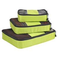 Hynes Eagle Travel Packing Cubes 3 pieces (Green) - Walmart.com