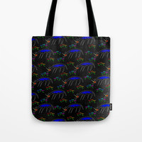 Smell The Flowers Unicorn Tote Bag by thatssounicorny