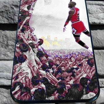 jordan basketball for iPhone 4/4s, iPhone 5/5S/5C/6, Samsung S3/S4/S5 Unique Case *76*