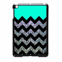 Glitter Print Chevron iPad Mini 2 Case