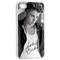BELIEVE Justin Bieber Iphone 4 4s Photo Picture Hard Case Cover Autograph F