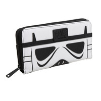 Loungefly Star Wars Darth Vader & Stormtrooper Dual Zipper Wallet