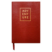 """Adventure"" Journal, Red, Journals"