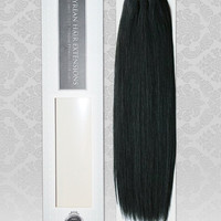 100% RAW Unprocessed Brazilian Silky Straight Virgin Remy Human Hair Extensions