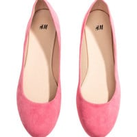 Ballet pumps - from H&M