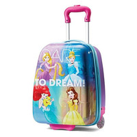 "Kids Disney Princess Dream 18"" ABS Hard Shell Rolling Wheeled Luggage Suitcase"