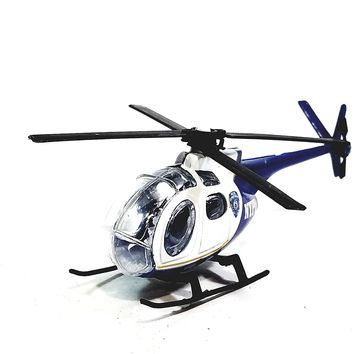 Daron NYPD Police Dept Rescue Helicopter 1/64 S Scale New York City Diecast Car