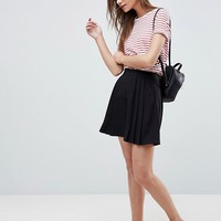 ASOS Tailored Mini Pleated Skirt at asos.com