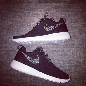 Custom Nike,Nike Roshe,Nike Shoes,Nike Custom,Nike,Nike,Nike Crystal,Women's Trainers