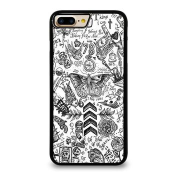 ONE DIRECTION TATTOOS iPhone 7 Plus Case