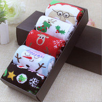 Christmas boxed couple socks
