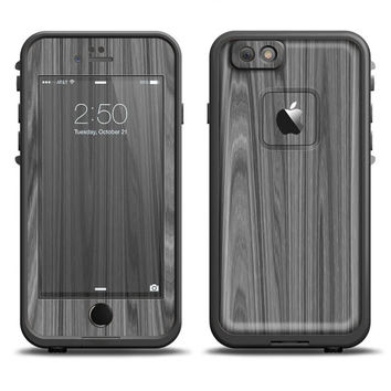 The Grayscale Smooth Woodgrain LifeProof Case Skin (Other LifeProof Models Available!)