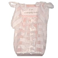 Cotton Tale Heaven Sent Girl Diaper Stacker (Pink)