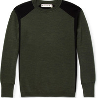Marni - Wool Crew Neck Sweater | MR PORTER