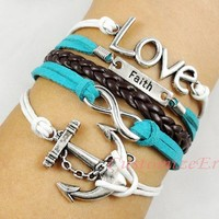 leather anchor infinity - Google Search