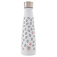 S'ip by S'well® Water Bottle 15oz Stainless Steel - White Penguins