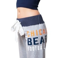 Chicago Bears Womens Bow Sweatpants | SportyThreads.com