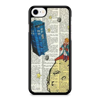 The Little Prince With Tardis On Dictionary Iphone 8 Case