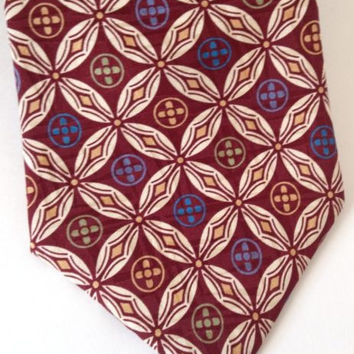 Christian Dior Monsieur Tie Mens Silk Neck Tie Brown 4 x 58 Made in USA Classic