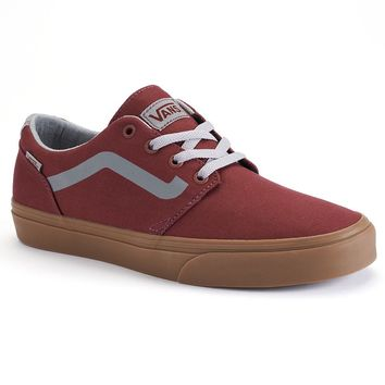 Vans Chapman Men's Canvas Skate Shoes (Red)