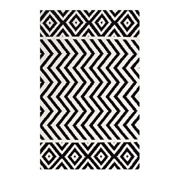 Ailani Geometric Chevron / Diamond 8x10 Area Rug