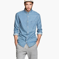 H&M Denim Shirt $29.95