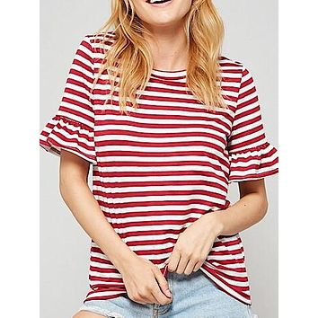 Just Sailing Through Top | Red