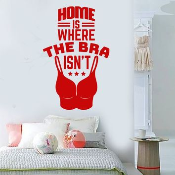Vinyl Wall Decal Funny Quote For Girls Rooms Positive Words Stickers (2891ig)