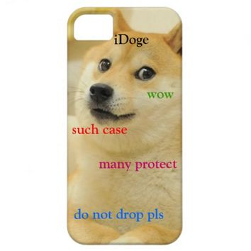 Doge iPhone 5 cover
