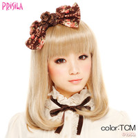 Priscilla official mail order site of Gothic extension and wigs all retro girly [Bob] A-630 Heat / wig