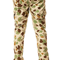 The Rock Steady Cargo Pants in Duck Hunter Camo