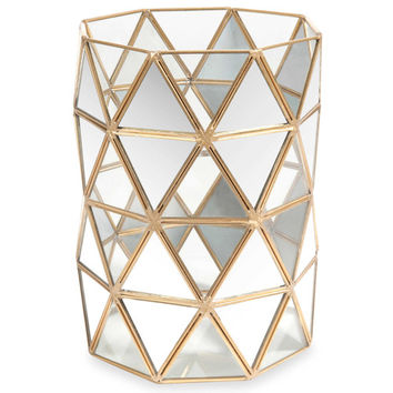 MILORD glass tealight holder H 21 cm | Maisons du Monde