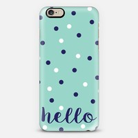 Hello Dots iPhone 6 case by Eastwood Eclectic | Casetify